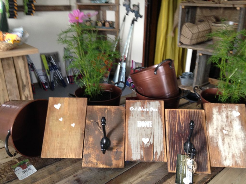 Locally made crafts and products in our gift store