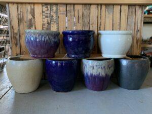 large ceramic pot