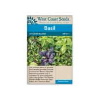 west coast basil seeds