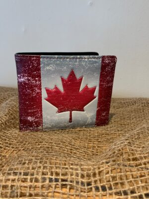 Canadian Maple Leaf Wallet