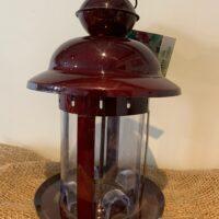 vintage lantern style bird feeder