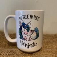 My True Nature Unicorn Mug