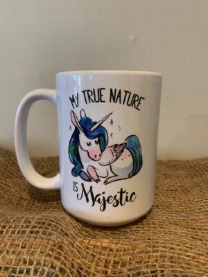 My True Nature Unicorn Mug