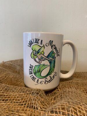 Look like a mermaid mug