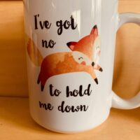 no fox mug