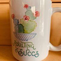Succulent mug