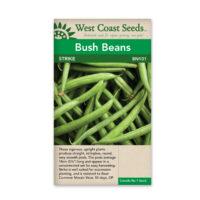 strike bush bean seeds
