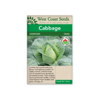 West Coast cabbage seeds