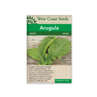 arugula west coast seeds