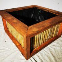 bamboo patio box